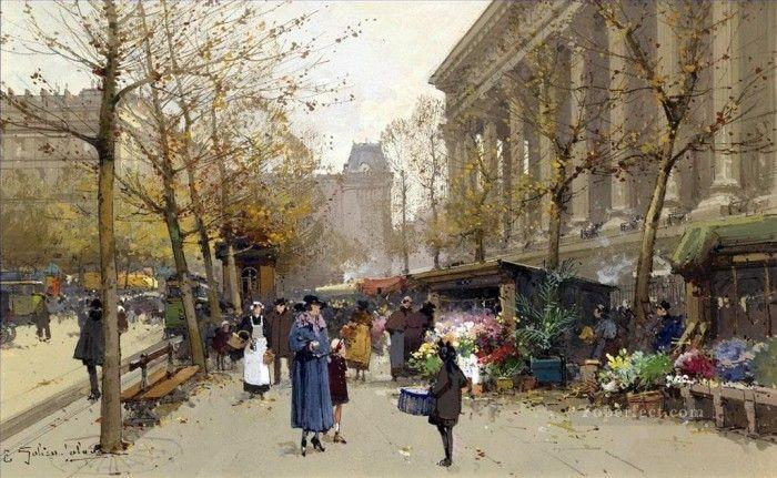 Художник Эжен Гальен-Лалу (Eugène Galien-Laloue)