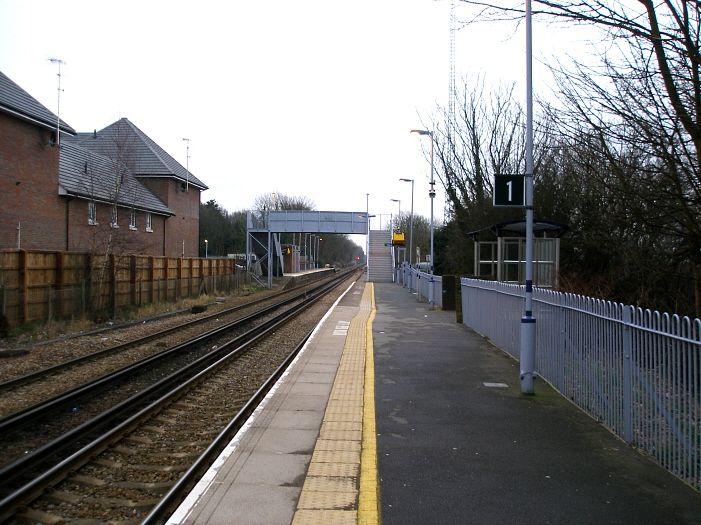 Edenbridge Railway Station (EBR) in Edenbridge, Kent
