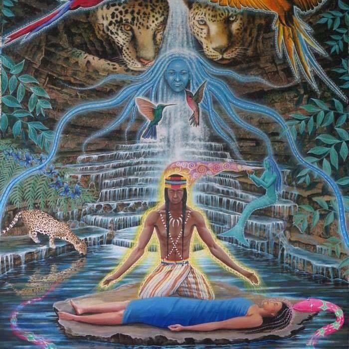 Uma cura acontece em múltiplos níveis de consciência.