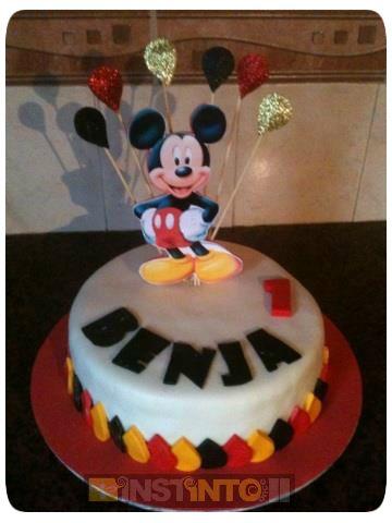 Torta de cumpleaños Mikey Mouse