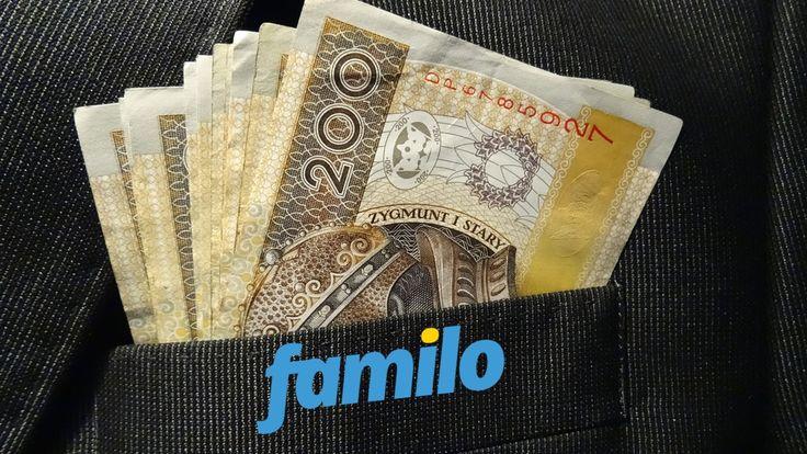 Wypłata z Familo na 601,76 zł - Jak Zlecać Wypłaty?