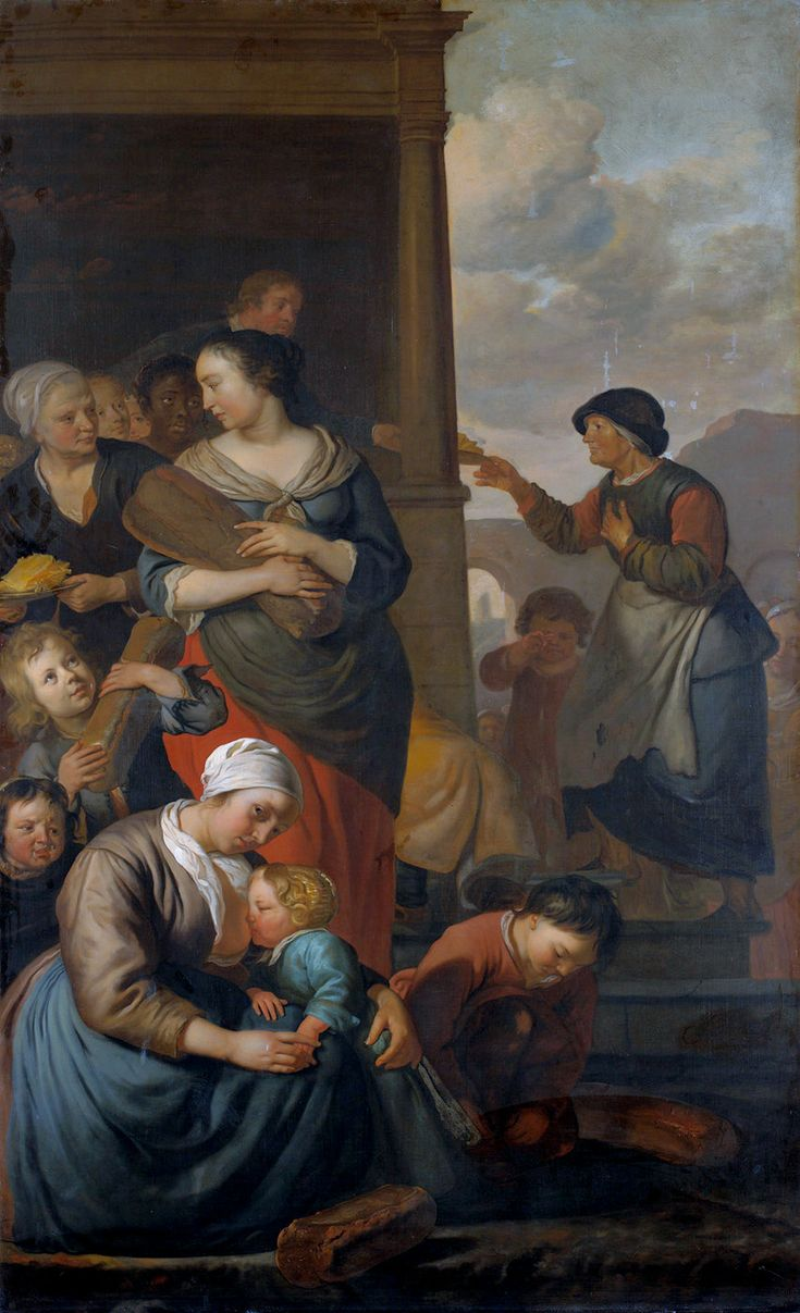 Allegory of the Food Distribution to the Poor  Jacob van Loo, 1657