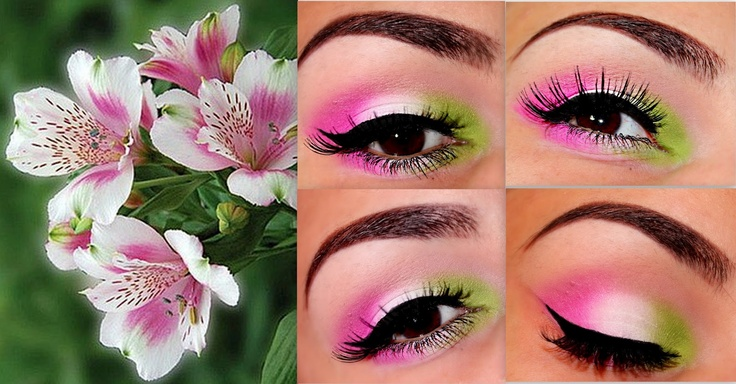 Flower Makeup Inspiration ~ Beauty Make Up Addict