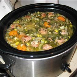 Soupe à la saucisse et à l'orge @ http://qc.allrecipes.ca