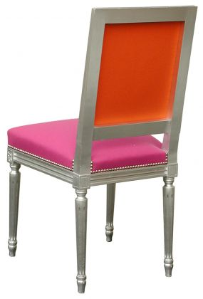 Les 25 meilleures id es concernant chaise louis xvi sur for Tissu recouvrir chaise