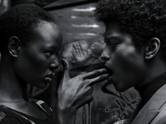 I Am Not A Dead Man | Ajak Deng and Bruno Mars by Hunter & GattiFlaunt Magazine February 2013