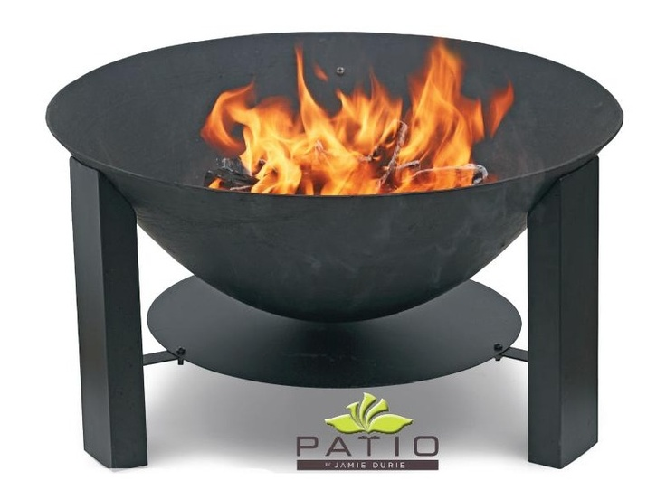 Patio By Jamie Durie Cast Iron Fire Pit