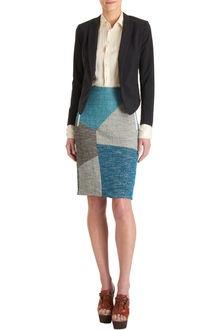 Rag & Bone Color Block Slash Skirt - Lyst