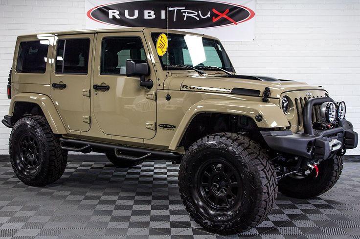 2017 Jeep Wrangler Rubicon Unlimited Gobi