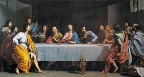 The Last Supper, called 'The Little Last Supper',?. Museo del Louvre,Paris.