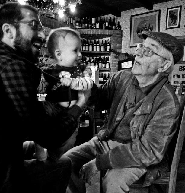 """Davide, Samuele e Lino by inmicio, via Flickr from """"ed è di nuovo Barbacarlo, ma con l'amaro in bocca"""""""