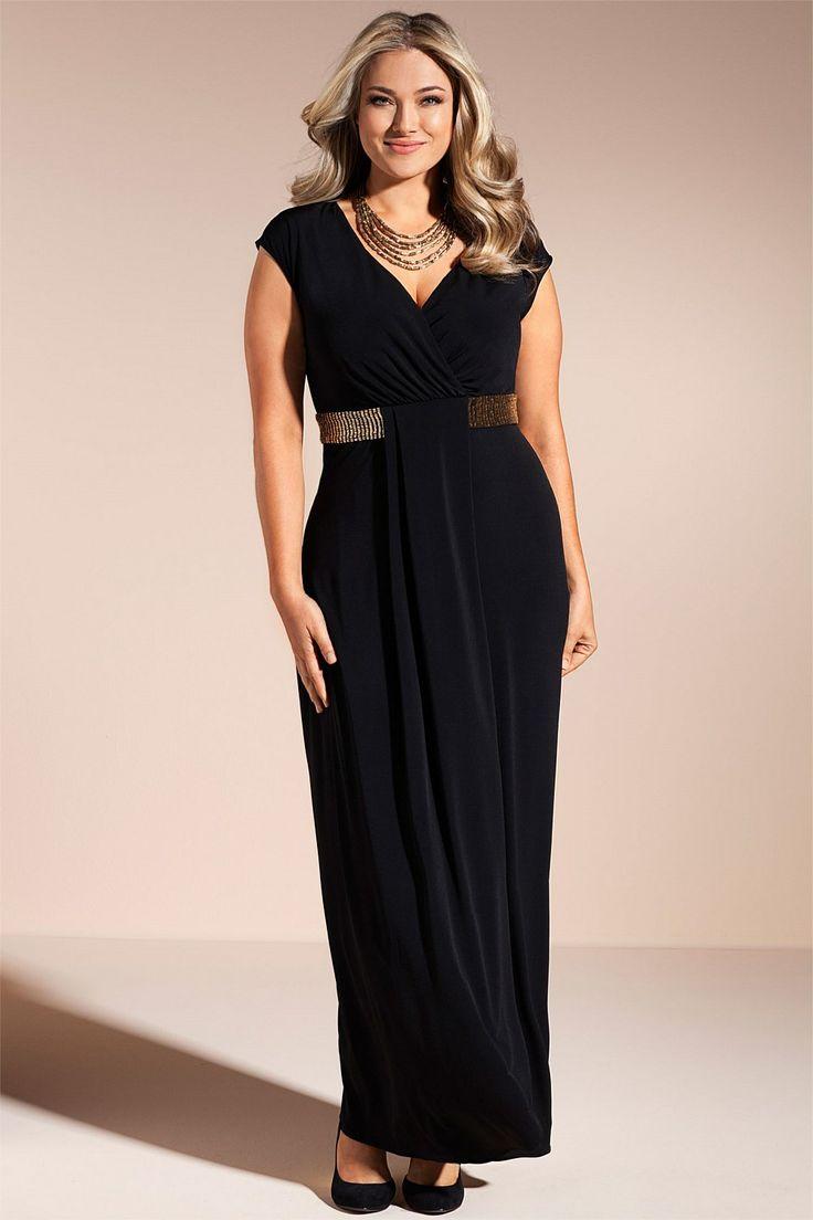Dresses - Sara Beaded Maxi Dress - EziBuy Australia