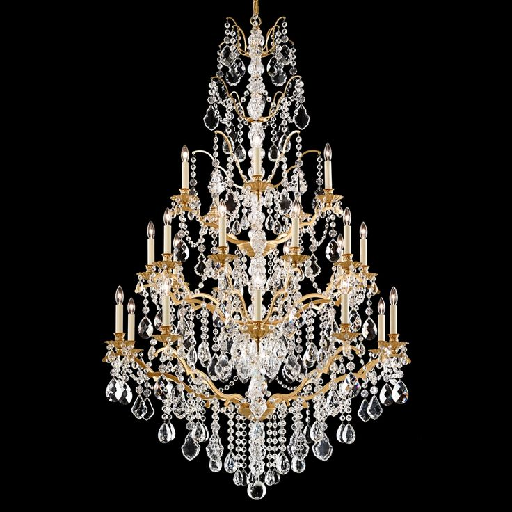 54 best 0 0 CHANDELIER images on Pinterest | Crystal chandeliers ...