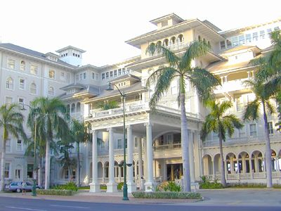 2002 One of my most favorite hotels I've stayed at. I highly recommend! This is the oldest hotel on Waikiki -- Moana Surfrider - Waikiki Beach, Oahu