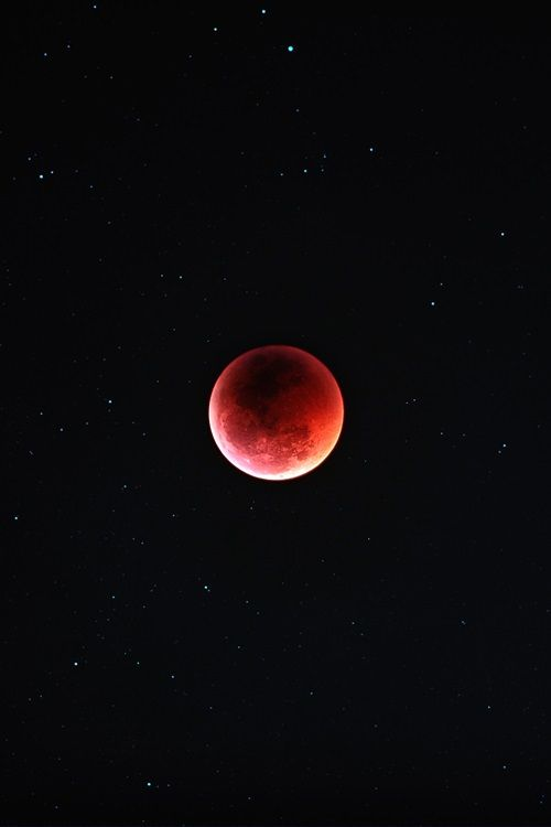 Blood moon Eclipse 4/15/14. First in a tetrad of total lunar eclipses.