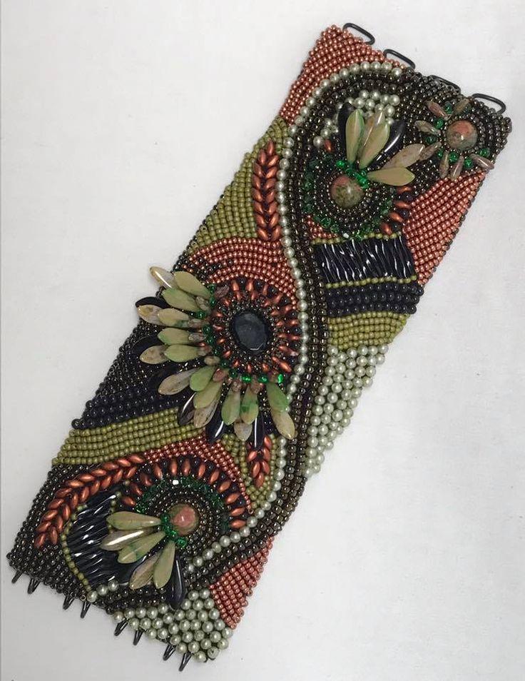 #embroiderybracelets