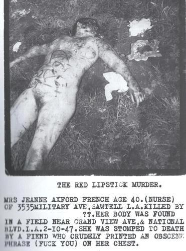 The Red Lipstick Murder