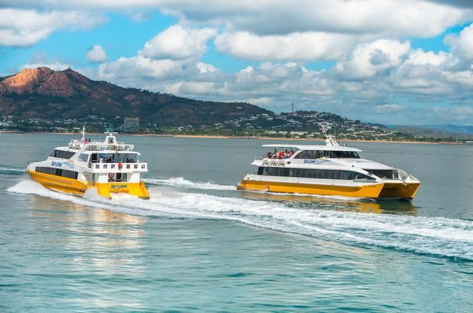 TOWNSVILLE: Magnetic Island Round-Trip Ferry From Townsville
