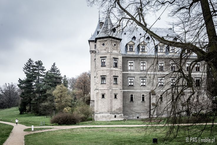 Renaissance Castle and park complex in Goluchow, Greater Poland