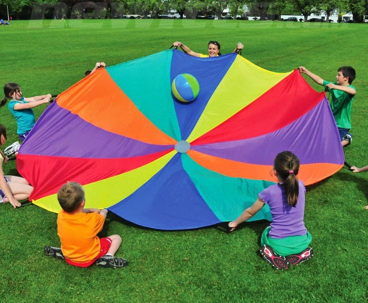 If you are having an activities based sports day rather than the traditional races why not include some parachute games. Parachutes available at http://www.bishopsport.co.uk/ap-parachutes.html