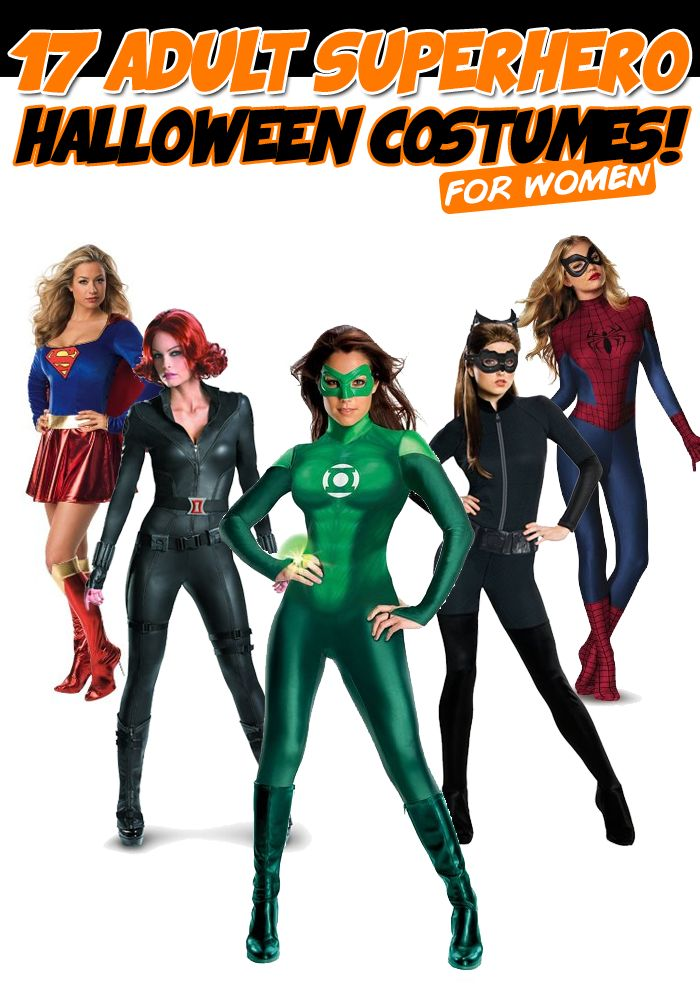 17 Adult Female #Superhero #Halloween Costumes For Every Fangirl! #HalloweenCostumes
