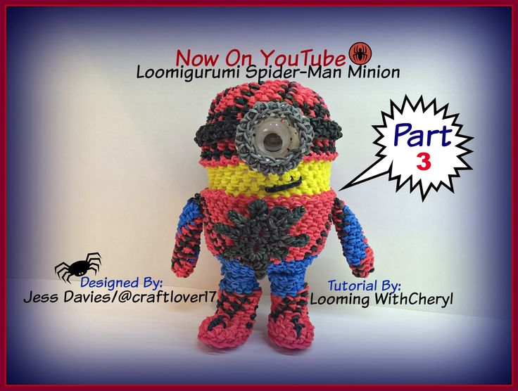 Complete Amigurumi Collection : 242 best images about Looming WithCheryl YouTube on ...