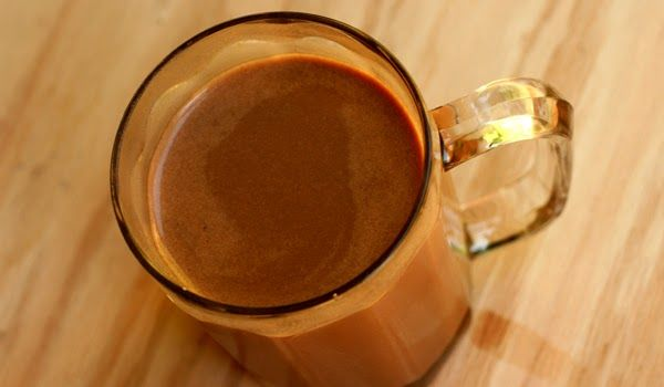 Chocolate Muscle Milk ~ A chocolate protein milkshake  #postworkout #recovery #recipe #nutreats