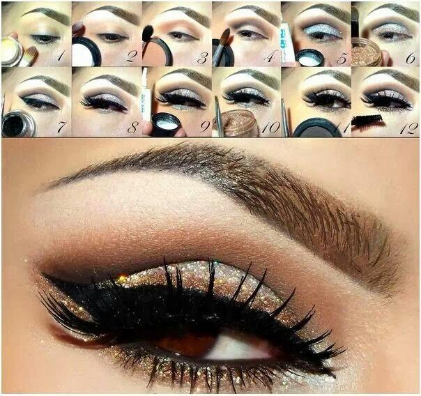 Eye Makeup Step By