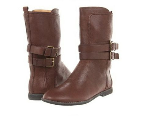"Nine West Sorbie Dark Brown Boot Size 10 $99.99, Look chic in these mid-calf boots from The Vintage America Collection by Nine West. Every gal's closet needs a classic flat boot and the Nine West ""Sorbie"" is the perfect choice."