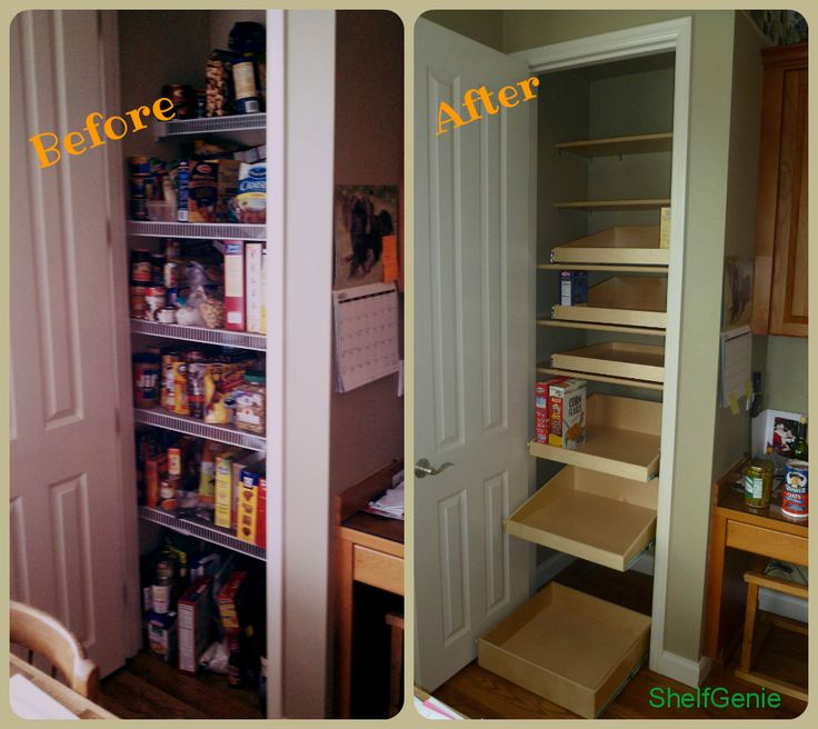 Create A Custom Pantry With Shelfgenie Of Omaha S Pull Out Shelving To Fit Your Existing E
