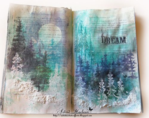 Hello Shimmerz friends, today I would like to share a journal spread with you, using soft water colour effects. I have a few step by step photos to…