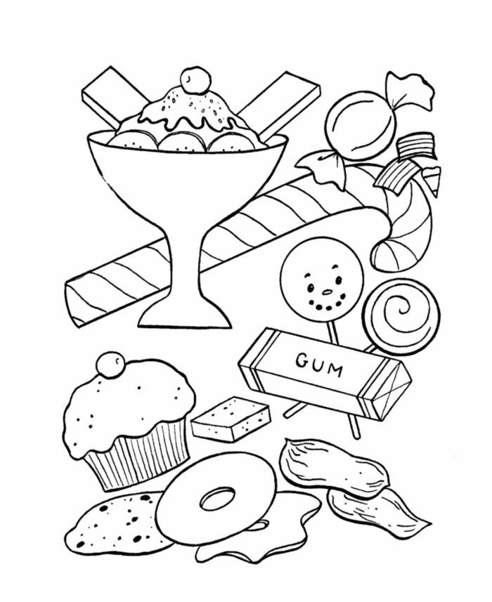 Candy Coloring Pages For Kids Free Coloring Sheets Candy Coloring Pages Coloring Books Cool Coloring Pages
