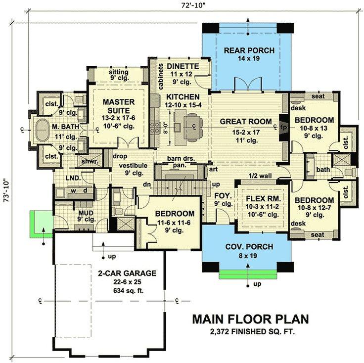 Plan 14636RK Charming Details House Plans/Floor Plans