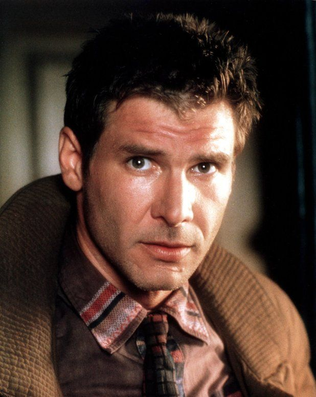 Blade Runner in pictures: Harrison Ford as replicant hunter Rick Deckard.