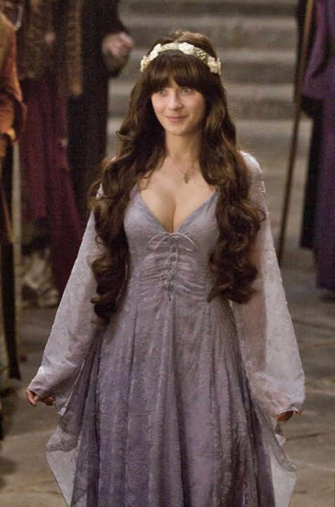 Zooey Deschanel Your Highness See Through