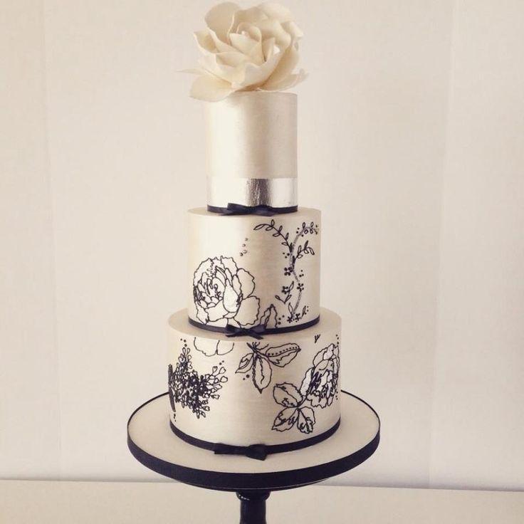 Bailey Rose wedding cake  - Cake by Christie