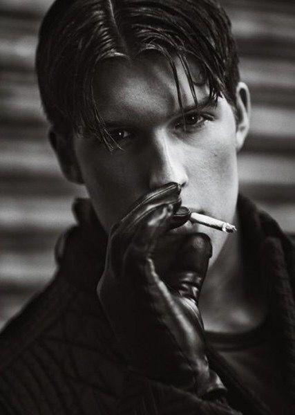 Gloves smoking