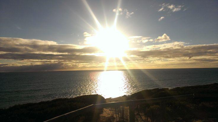 Sellicks Beach at sunset, South Australia