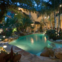 Pretty...nice. But would need waterfalls and more area to rough house and play.