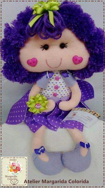 Boneca Flor