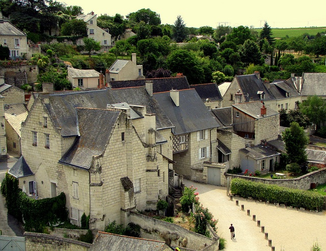 Montsoreau - classed as 'une des plus beaux villages de France,' one of the most beautiful villages in France