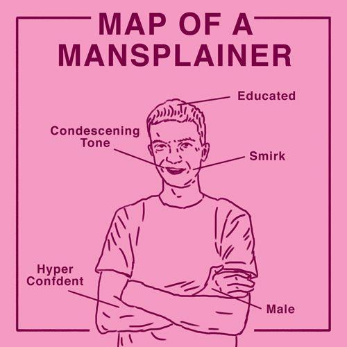 "A Primer on ""Mansplaining,"" AKA When Men Don't Value Your Opinion | TeenVogue.com"