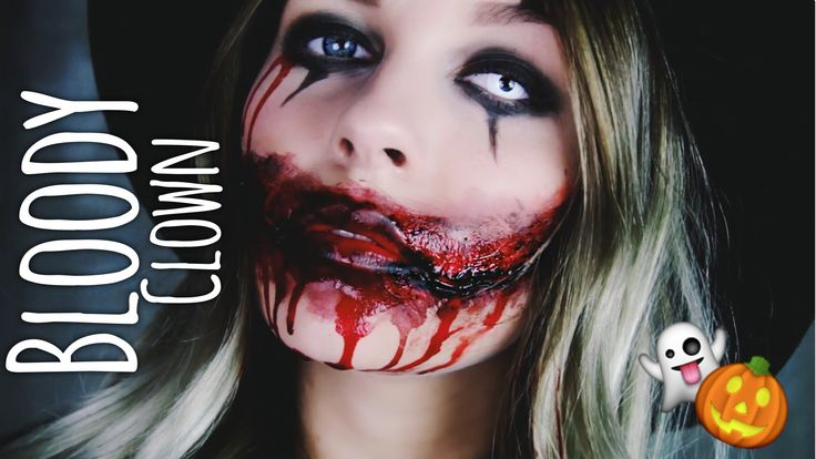 Bloody Clown - HALLOWEEN Make-up | Dagi Bee