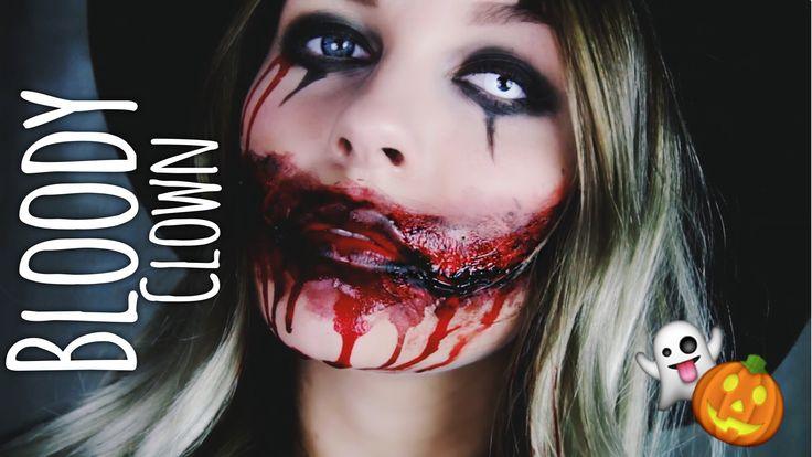 Bloody Clown - HALLOWEEN Make-up | Dagi Bee