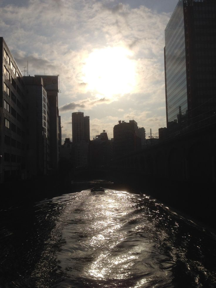 神田川、昌平橋から。