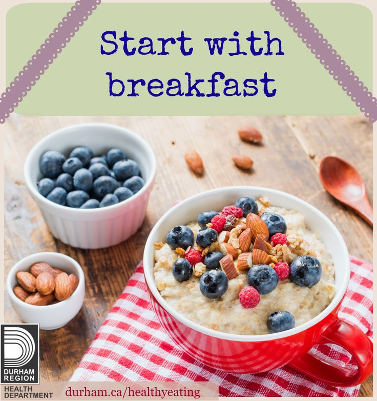 Eating a healthy breakfast each day can help you and your family to have the energy needed to meet with day's tasks, achieve and maintain a healthy body weight and think clearly throughout the day. There are great ways to make sure you and your family have a healthy breakfast every day. Click to find out more!