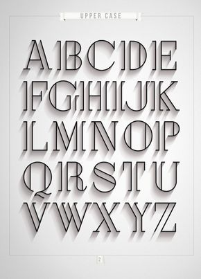 Londres por Antonio Rodrigues Jr, a través de Behance Me gusta esta tipografía porque se ve con clase y de la vendimia. Me recuerda a una película en blanco y negro. Le da más profundidad a las letras por tener las líneas supletorias.. Es simple pero audaz al mismo tiempo.