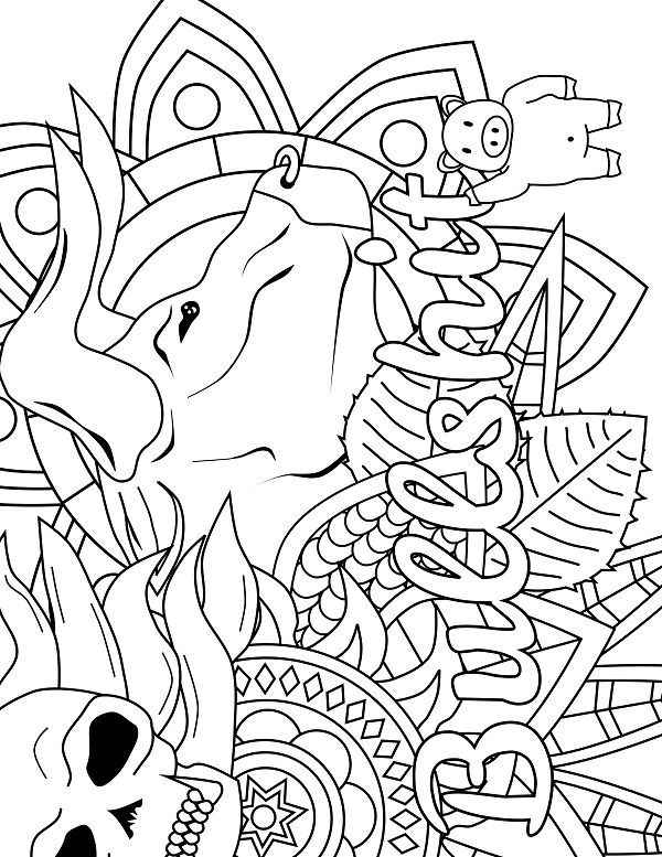 418 best Swear Word Coloring Pages images on Pinterest ...