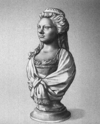 Шубин Ф. И. Портрет Ш. И. Михельсон. 1785. Мрамор. Русский музей. Ленинград.