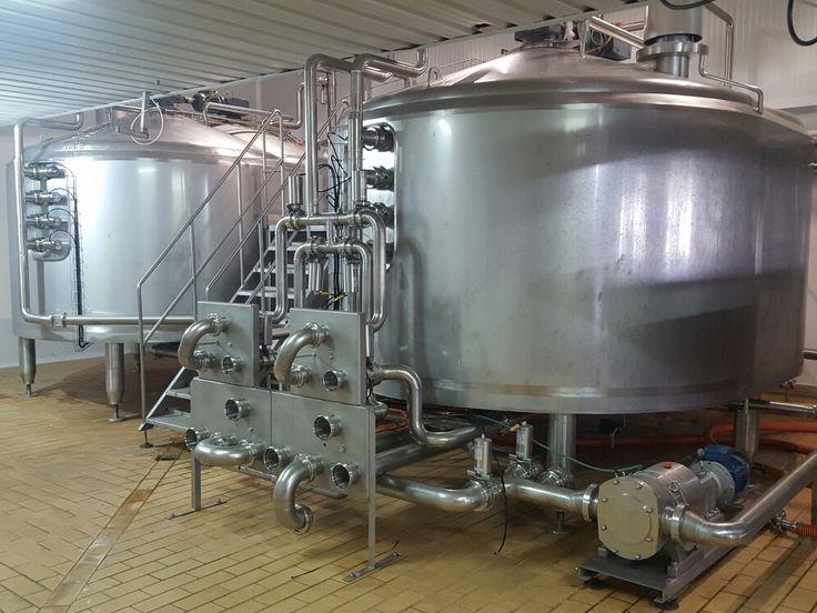 2 cubas de cuajar 12.500 litros